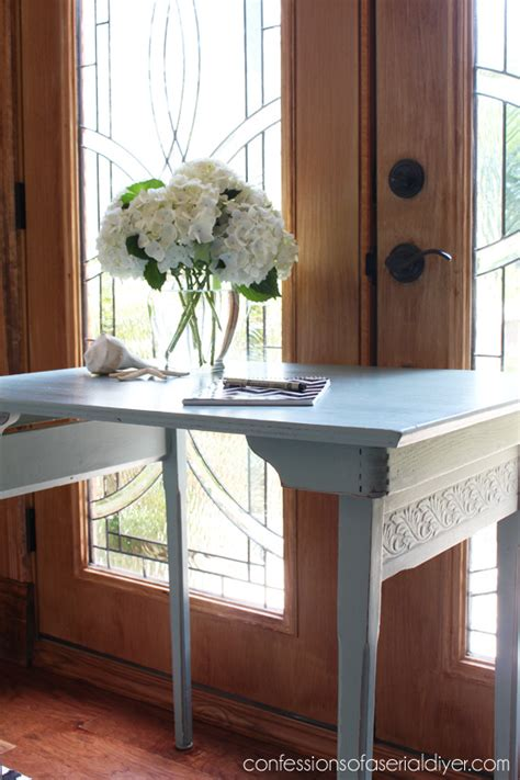 diy folding sewing table antique folding sewing table confessions of a serial do