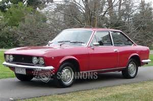 Fiat 124 Sport Coupe 1972 Sold Fiat 124 Bc Sport Coupe Auctions Lot 1 Shannons