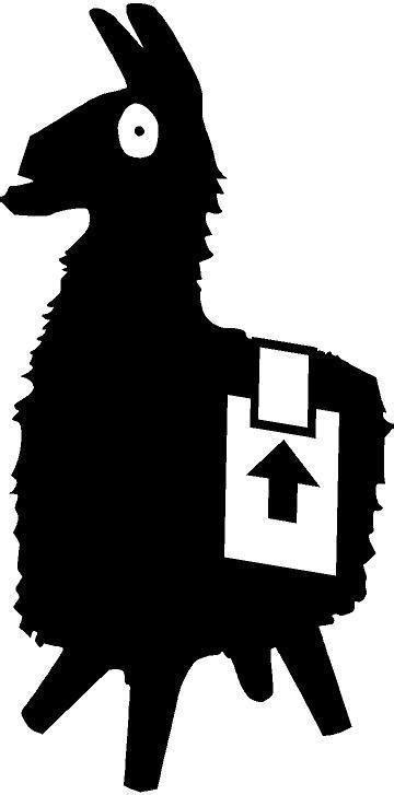 Llama Fortnite Blanco Y Negro   Fortnite Skin Generator Omega