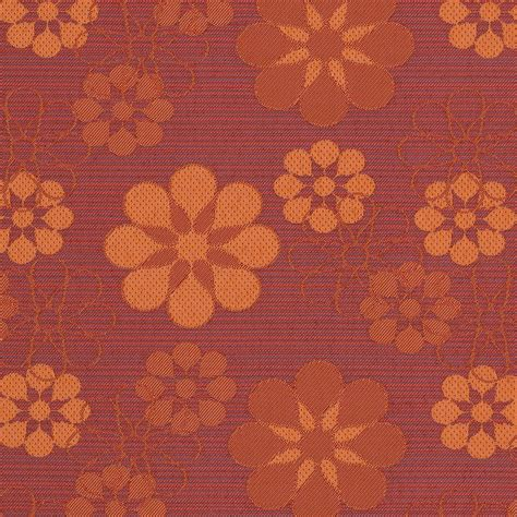 curtain call fabrics curtain call red and orange floral woven upholstery fabric