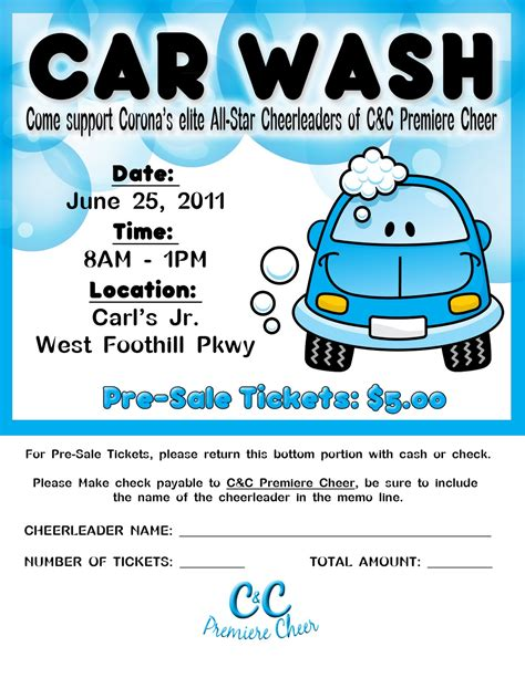 car wash tickets templates free photography and graphic designby khylia