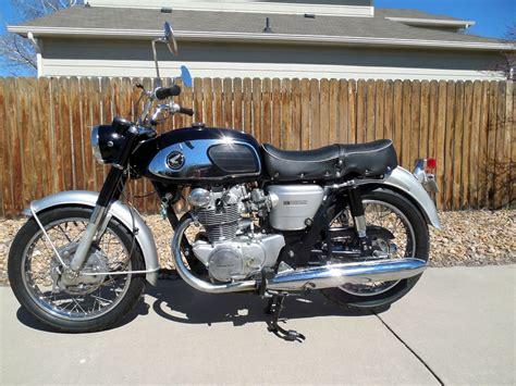 black honda motorcycle 1965 honda cb450 k0 black bomber is easy entry to