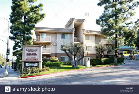 Los Angeles Appartment by Atmosphere Corey Haim S Apartment Complex Oakwood Apartments Los Stock Photo Royalty Free