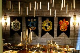 harry potter house decor table setting ideas round home design and decor