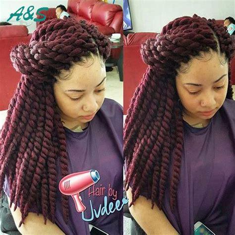picture of red xpression braids 1000 id 233 es sur le th 232 me colored senegalese twist sur