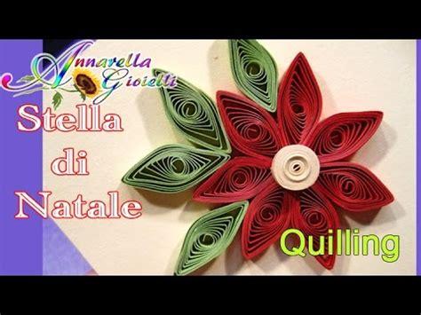 Quilling Natalizio Tutorial | tutorial stella di natale tecnica quilling youtube