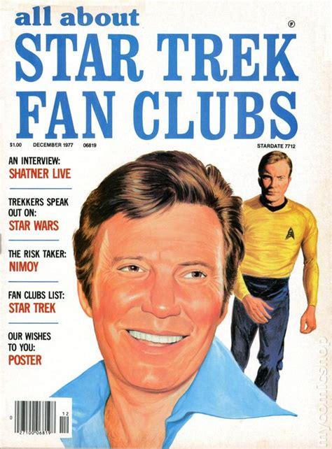 star trek fan club all about star trek fan clubs magazine 1976 comic books