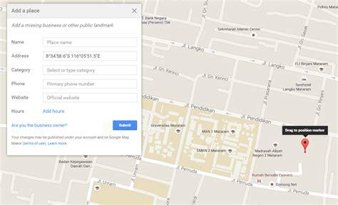 membuat akun google earth cara menambahkan lokasi di goole map sehingga terdetect di