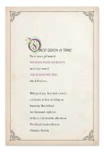 story book ending wedding invitations by invitation consultants ic gd mbt21