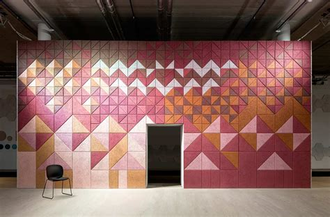 design form us with love baux sound absorbing wall tiles by form us with love