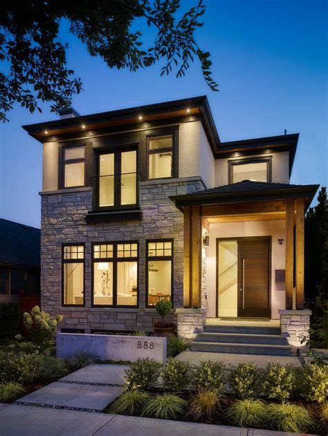 contemporary style house 25 best ideas about modern craftsman on pinterest