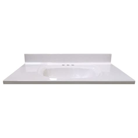 Woodnote Vanity Top by 31 Inch Walnut Vanity Top With Wave Bowl 48665 In Canada
