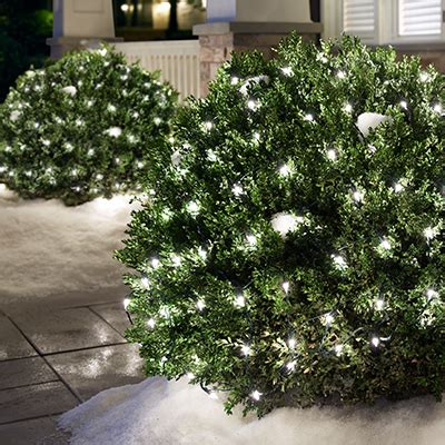 how to attach net lights to hedges shop lights accessories at the home depot