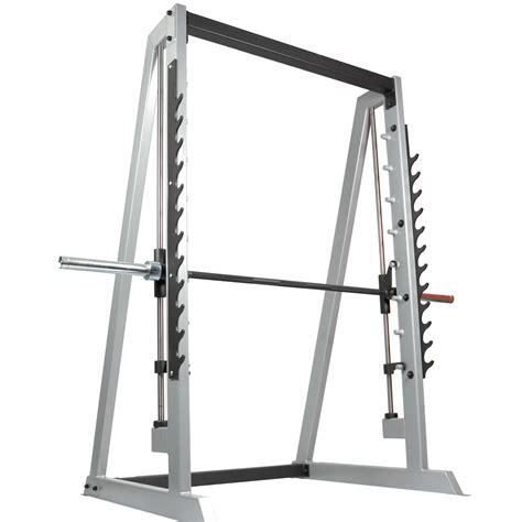 The Rack Machine by Smith Machine With Gun Rack With 4 X Weight Storage