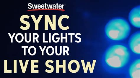 how to sync lights to how to sync lighting to your live