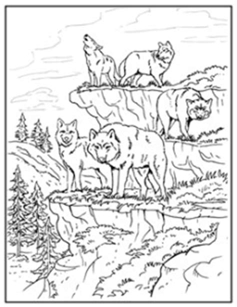 coloring pages of wolf packs maggiemoosetracks 174 wolf pack coloring pages