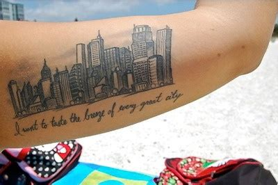 atlanta skyline tattoo would be with the outline of louisville s skyline