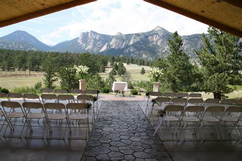 Wedding Venues Colorado by Black Inn Estes Park Co Wedding Venue