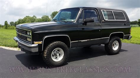 Power Lifier Blazer X4 1990 90 chevrolet chevy 4x4 k5 blazer silverado black and