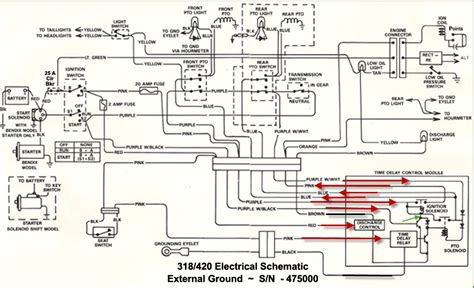 deere 318 wiring diagram wiring automotive wiring