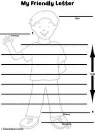 letter writing template for graders letter writing