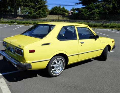 Toyota 2 Door Cars by 1979 Toyota Corolla Custom Sedan 2 Door 1 6l