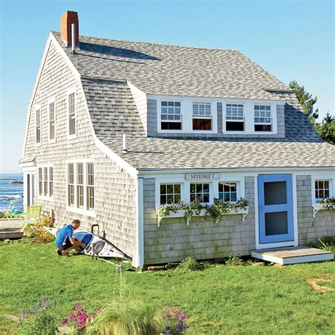house beautiful cottage living magazine new england style beach cottage 20 beautiful beach
