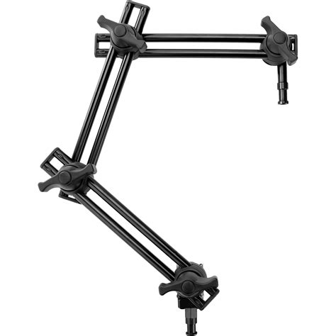 Overhead Bed impact 3 section double articulated arm without bracket