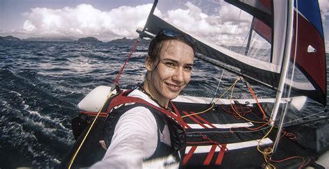 inflatable sailing catamaran nz laura dekker s favourite inflatable sailboat minicat