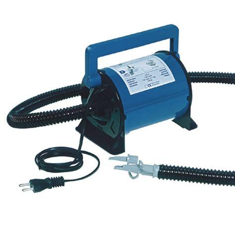 rubberboot elektrische pomp elektrische luchtpomp bravo 800 220 volt krachtige