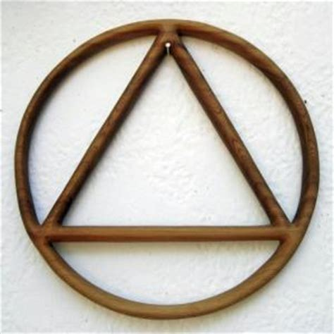 triangle inside circle occult illuminati symbol muslims