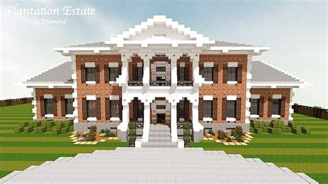 building a mansion plantation mansion cubed creative minecraft project