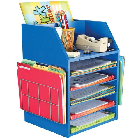 paper organizer for desk really teachers desktop organizer with paper holders