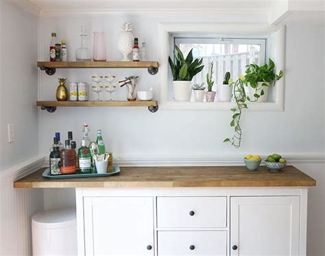 my diy ikea hack of lixhult cabinet with real marble on ikea hacks diy bar cabinet kitchenette shrimp salad