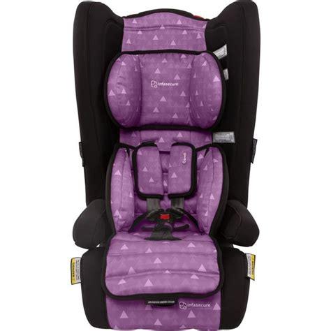 purple booster seat australia infa secure comfi treo convertible booster seat purple