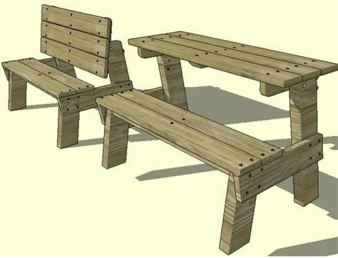 folding bench picnic table plans free childrens folding picnic table plans free download pdf