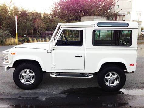 land rover defender for sale seattle purchase used completely restored 1997 defender 90 in