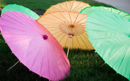 love wallpaper gambar payung warna warni  indah