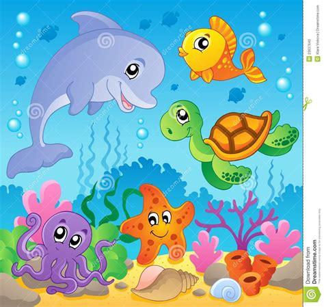 Adventure Of The Seas Floor Plan image with undersea theme 2 stock photo image 23637640