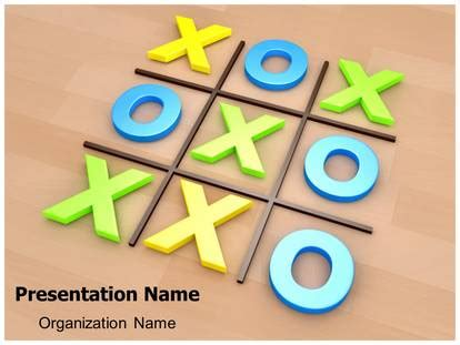 tic tac toe template powerpoint tic tac toe powerpoint