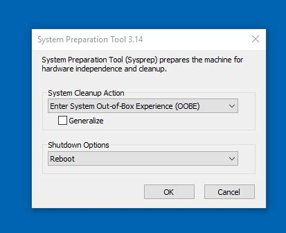 upgraded pc win7 to win10 tried to install image