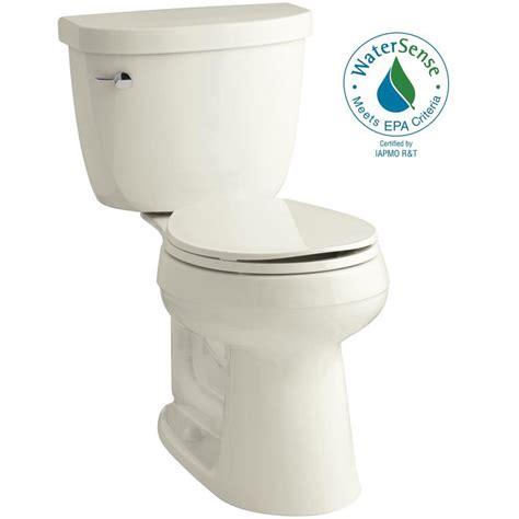 kohler comfort height round toilet kohler cimarron comfort height 2 piece 1 28 gpf round