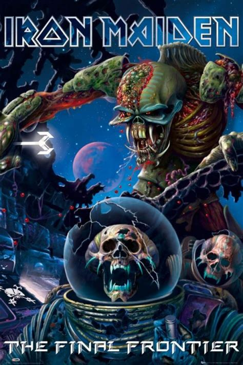 Plakat Iron Maiden by Iron Maiden Posters For Sale Iron Maiden Frontier