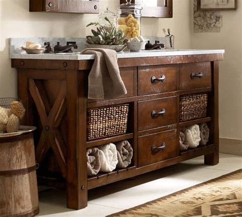 bathroom vanities pottery barn benchwright bathroom pottery barn pottery barn pinterest
