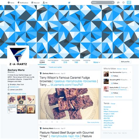 blue layout for twitter zamartz new twitter layout 2014 zamartz