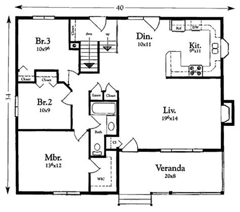 1200 Sq Ft House Plans by 3 Bedroom House Plans Under 1200 Square Feet Arts
