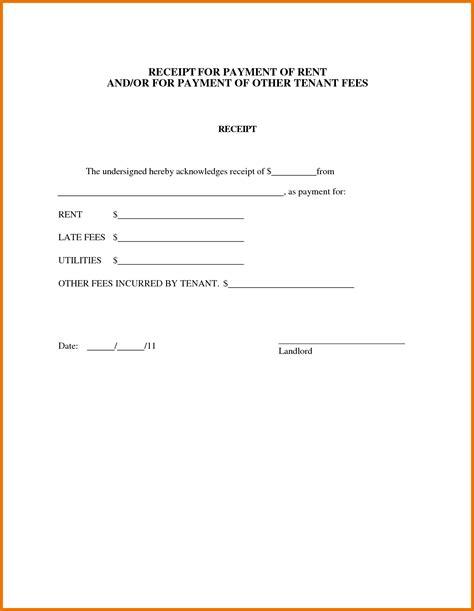 Acknowledgement Letter From Landlord tenant receipt portablegasgrillweber