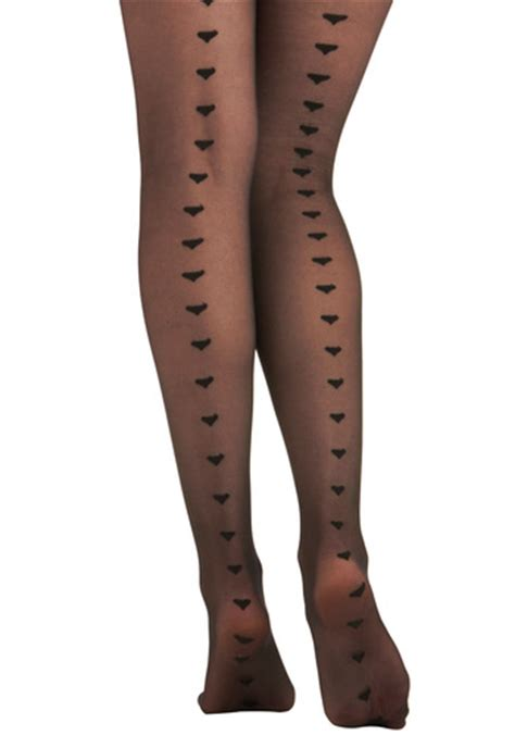 Heart Pattern Tights | heart tights 8 stylish tights for your fashionable fall