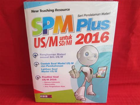 Buku Sd Spm Plus Us M Sd Mi 2018 jual spm plus us m untuk sd mi 2016 baru buku pendidikan harga murah