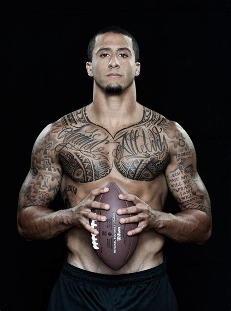 nfl tattoos colin kaepernick 2018 tattoos